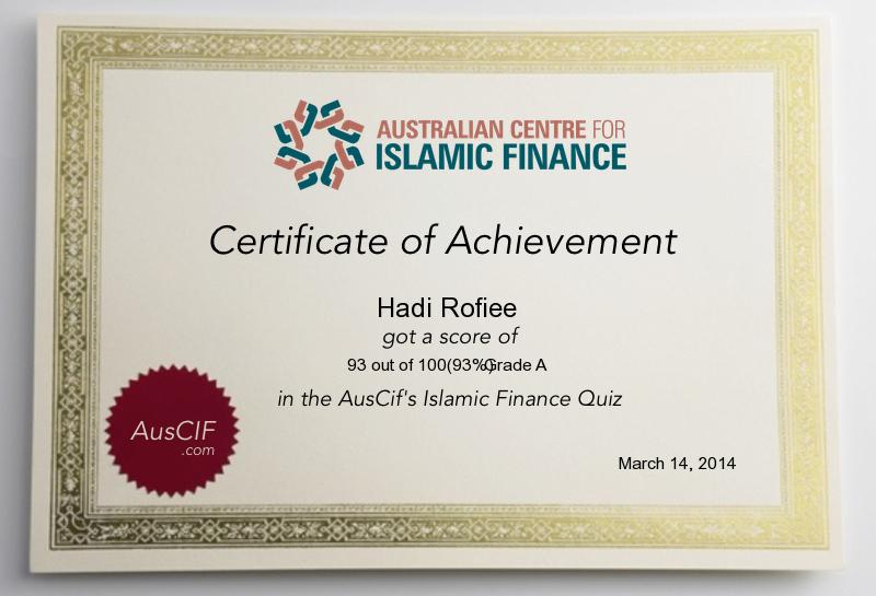 Islamic Finance Quiz