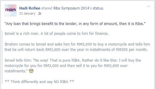 Say No Riba