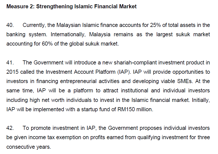 Strengthening Islamic Financial Market - 1