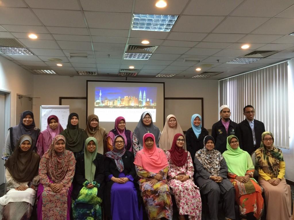 Peserta Perempuan Kursus Perancangan Kewangan Islam