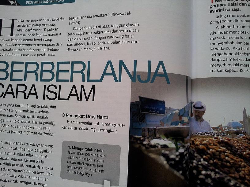 Belanja Cara Islam